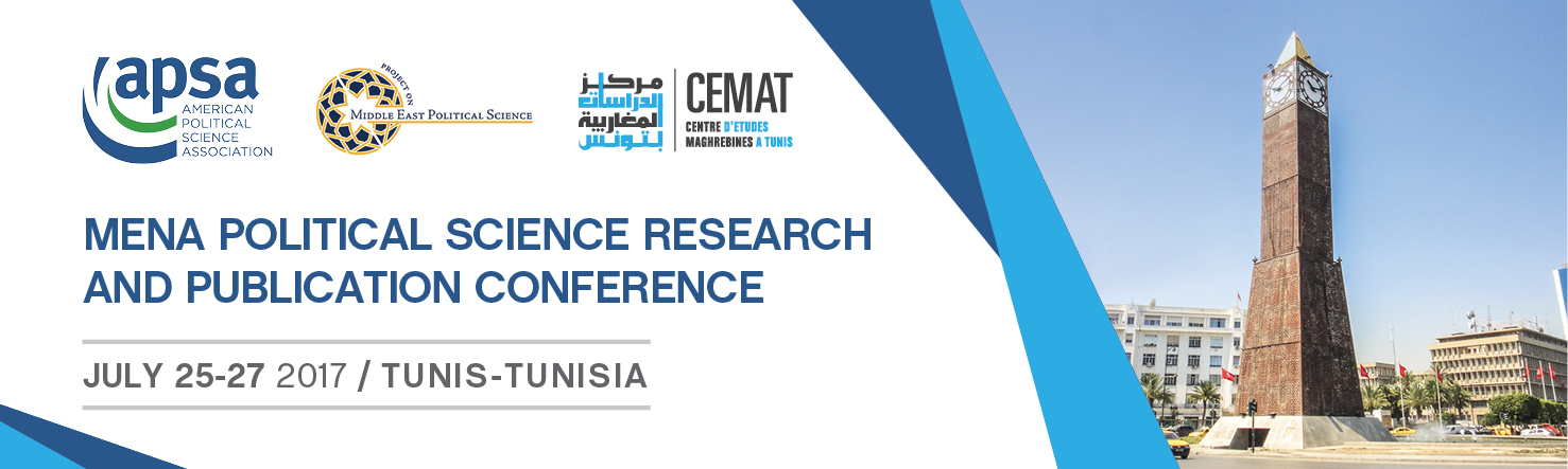 Mena political science research and publication conference mena the 2017 mena political science research and publication conference was held in tunis from july 25 27 2017 organized in partnership with the center for publicscrutiny Choice Image